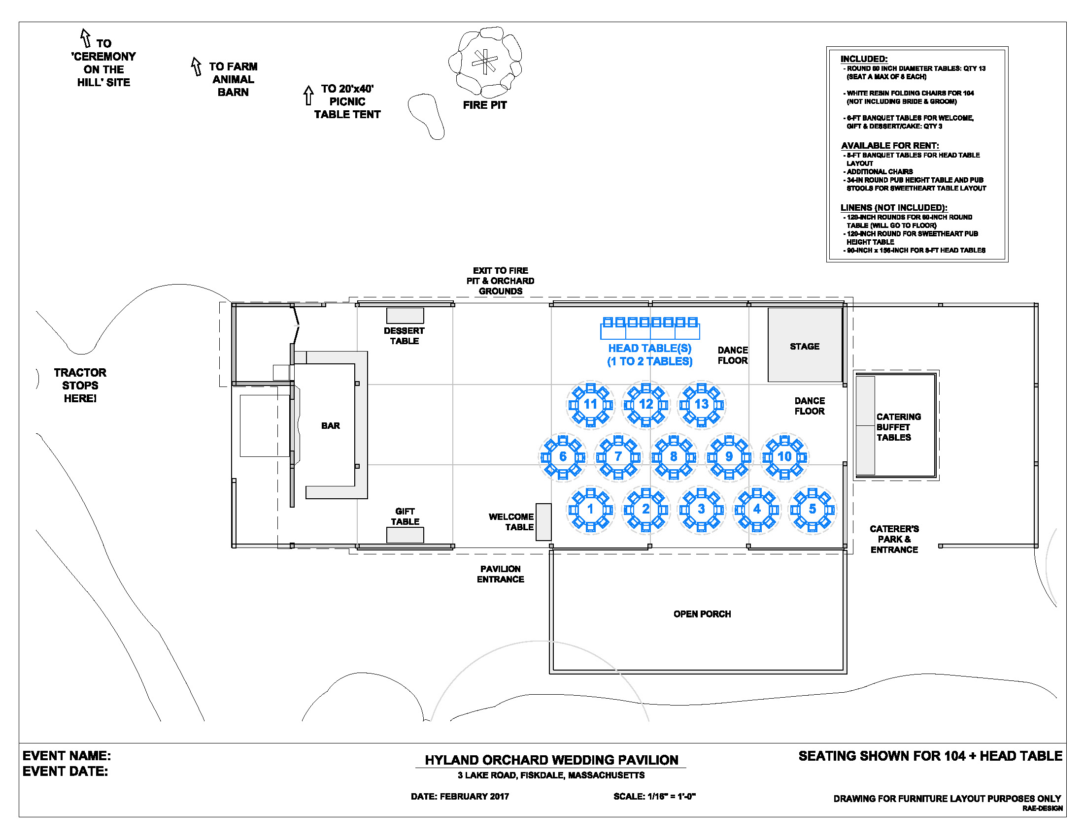 wedding floor plans – hyland orchard & brewery