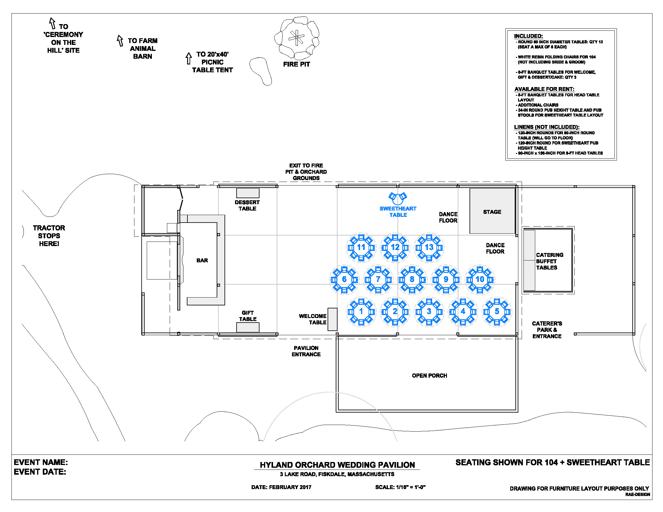 banquet plan space layout use this software to lay out the typical