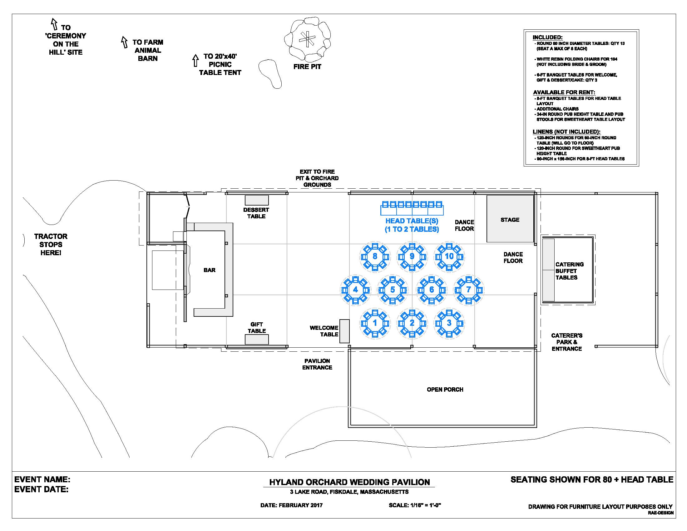 wedding floor plans u2013 hyland orchard u0026 brewery